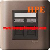 Ổ Mạng đơn, ổ điện thoại đơn E8432TDRJS_5SZ_G19