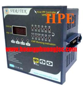 Bộ điều khiển tụ bù VERITEK - Automatic PF / Kvar Controller VIPS 108 – 8 S