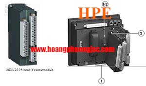 Module kết nối Sepam series 60 - 80 với 14 inputs + 6 outputs 110 - 125 V DC MES120H - 59722