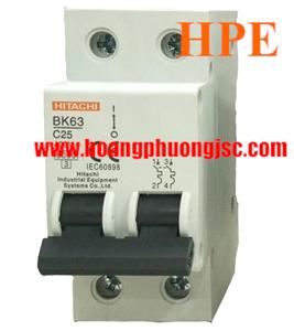 Aptomat Hitachi BK-63 2P 6A