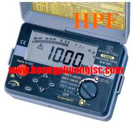 Đồng hồ đo điện trở cách điện Megaohm , (Mêgôm mét), Kyoritsu 3021, K3021