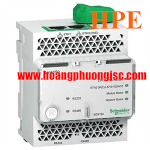 Bộ chuyển đổi tin hiệu Schneider Link150 Ethernet Gateway EGX150 ( Thay thế cho mã EGX100MG )