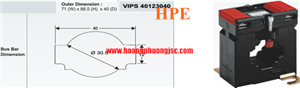 Biến dòng đo lường VIPS 40123040-500/5-0.5-5