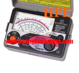 Đồng hồ đo điện trở cách điện Megaohm , (Mêgôm mét), Kyoritsu 3132A, K3132A