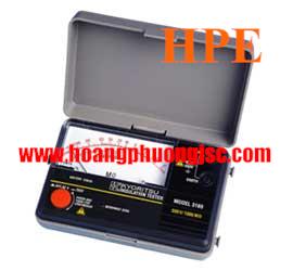 Đồng hồ đo điện trở cách điện Megaohm, (Mêgôm mét), Kyoritsu 3166, K3166