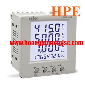 Đồng hồ đa năng Selec MFM383A-C