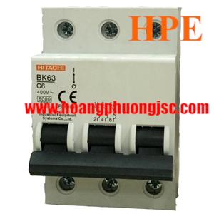 Aptomat Hitachi BK-63 3P 10A