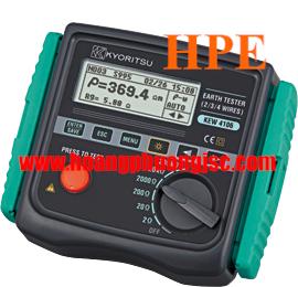 Thiết bị đo điện trở đất - Điện trở suất Kyoritsu 4106, K4106