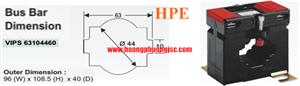 Biến dòng đo lường VIPS 63104460-1250/5-0.5-15