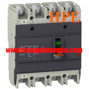 EZC250H4080 - Aptomat MCCB Schneider EZC250H 4P 80A 36kA