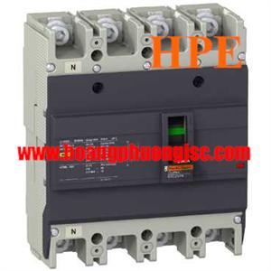 EZC250H4225 - Aptomat MCCB Schneider EZC250H 4P 225A 36kA