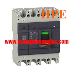 EZC400N4300 - Aptomat 4P 300A 36kA Easypact EZC400N Schneider