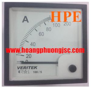 Đồng hồ đo dòng, áp kim VERITEK - VIPS 69VAC (96x96)