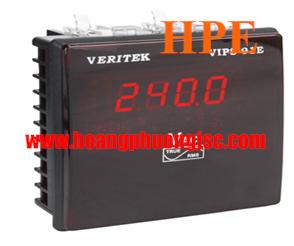 Đồng hồ đo dòng, áp 1Pha LED VERITEK - VIPS 91P-DC (48x96)