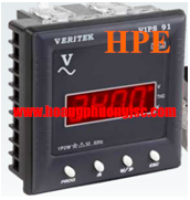Đồng hồ đo dòng, áp 1Pha LED VERITEK - VIPS 92E (96x96)