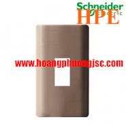 Mặt cho MCB 1 cực Zencelo màu đồng A8401MCB_SZ_G19 Schneider