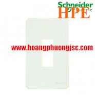 Mặt cho MCB 1 cực Zencelo màu trắng A8401MCB_WE_G19 Schneider