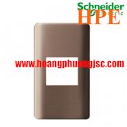 Mặt co MCB 2 cực Zencelo màu đồng A8402MCB_SZ_G19 Schneider