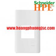 Mặt cho MCB 2 cực Zencelo A màu trắng A8402MCB_WE_G19 Schneider