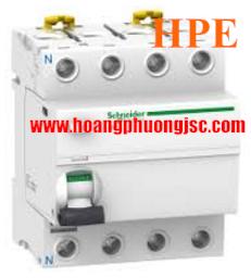 Aptomat chống dòng rò Acti9 iID RCCB 4P 63A 30mA 6kA 240V (AC type)