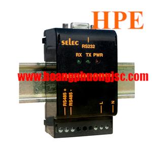 Bộ chuyển đổi tín hiệu Selec AC-RS485-RS232-ISO