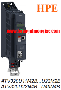 Biến tần Schneider ATV320U40N4B 4KW 400V 3PH BOOK CONTROL