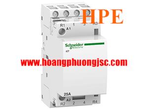 A9C20134 - Contactor Schneider iCT 25A 4NO 24Vac 50Hz