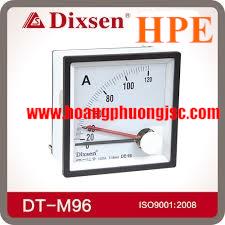 Đồng hồ Ampe 2 kim Dixsen