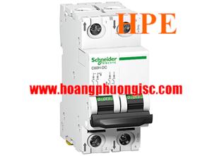 Aptomat A9N61520 Schneider một chiều C60H-DC 0.5A, 2P, 24-500VDC