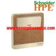 Bộ công tắc chìa khoá thẻ màu gỗ E8331EKT_WD_G19 Schneider