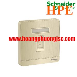 Bộ ổ cắm điện thoại đơn E8331RJS4_WG_G19 Schneider