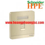 Bộ ổ cắm mạng cat6 đơn E8331RJS6_WG_G19 Schneider
