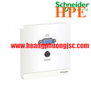 Bộ ổ cắm VGA & Mini Audio E8332HD15PH Schneider