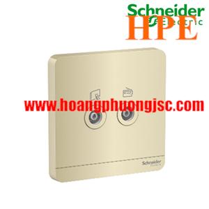 Bộ ổ cắm TV đôi E8332TV_WG_G19 Schneider