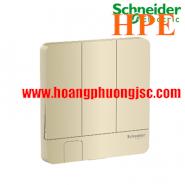 Mặt cho 3 công tắc có móc treo chìa khóa E8333KH_WG_G19 Schneider