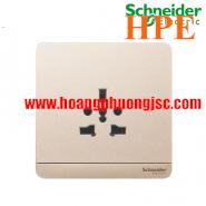 Bộ ổ cắm đơn đa năng 16A E83426TS_WG_G19 Schneider