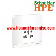 Bộ ổ cắm đơn đa năng 16A  E83426TS_WE_G19 Schneider