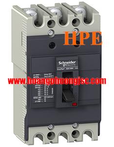 EZC100H3030 - Aptomat MCCB Schneider 3P 30A 30kA 415V Easypact EZC100H