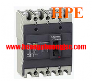EZC100N4015 - Aptomat MCCB Schneider 4P 15A 25kA 415V Easypact EZC100N