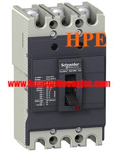 EZC100F3060 - Aptomat MCCB Schneider 3P 60A 10kA 415V Easypact EZC100F
