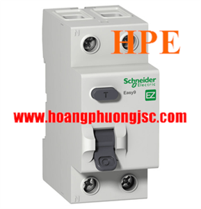 EZ9R36240- Aptomat chống giật Schneider RCCB 2P 40A 30mA AC 4,5kA 230V