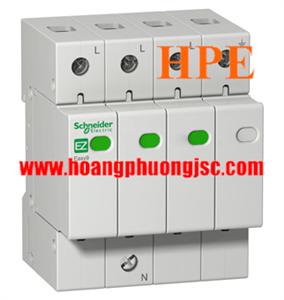 EZ9L33745 - Chống sét lan truyền Schneider type2 3P+N 45kA