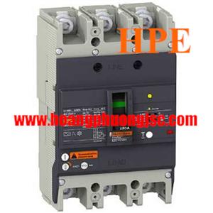 EZCV250H3100 - MCCB chống giật Schneider ELCB EZCV250H 100A 3P 36kA