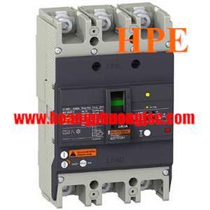 EZCV250N3080 - MCCB chống giật Schneider ELCB EZCV250N 80A 3P 25kA