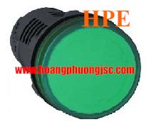 Đèn báo điện áp 380V đến 400V AC XA2EVQ3LC