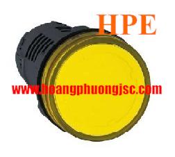 Đèn báo điện áp 380V đến 400V AC XA2EVQ5LC