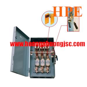 Cầu dao hộp 3 pha 3 cực 400A -  660V Vinakip (CDH 3P 400A)