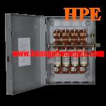 Cầu dao hộp 3 pha 4 cực 200A -  660V Vinakip (CDH 3P4C 200A)
