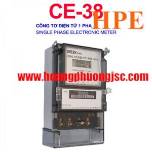 CÔNG TƠ ĐIỆN TỬ 1 PHA EMIC CE-38