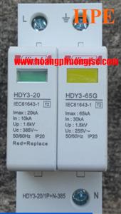Chống sét lan truyền 1P+N 65kA Himel HDY3655
